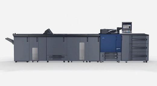 Druk w technologii cyfrowej: maszyna Konica Minolta
