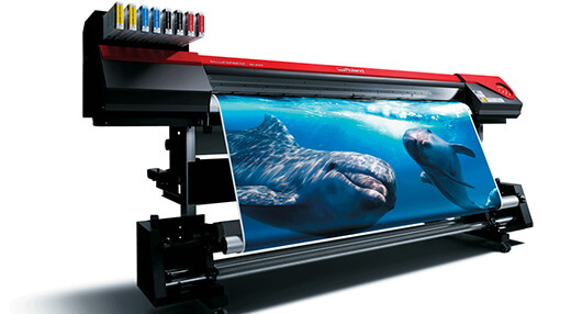 Druk wielkoformatowy: Roland Versa Art Re-640 1,6 m zadruku